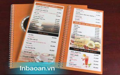 In quyển menu ở đâu rẻ đẹp nhất?